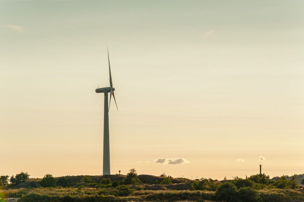 wind turbines are used to generate renewable energy in Asian Renewable Energy Hub