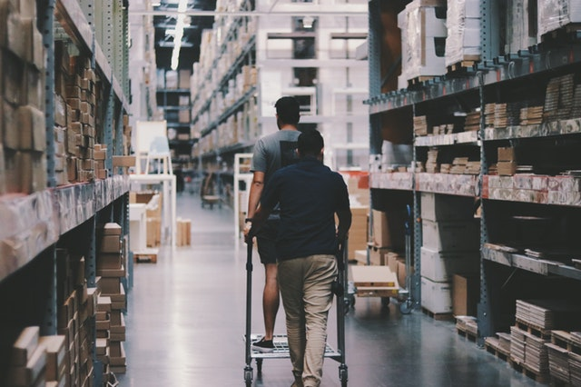 Warehouse stock