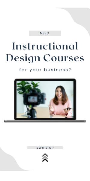 instructional design courses